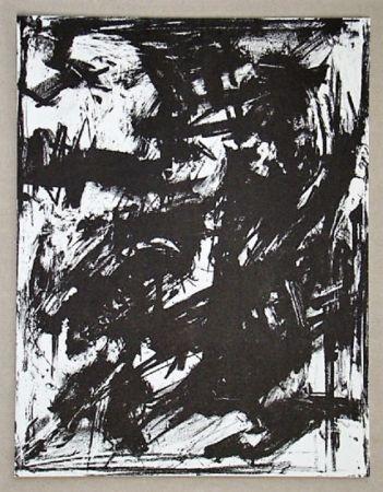 Litografia Vedova - Intolleranza 1960