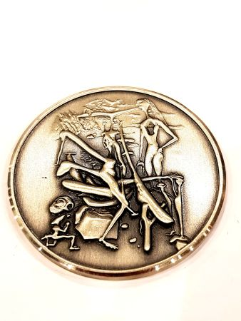 Litografia Dali - Intraterrestres