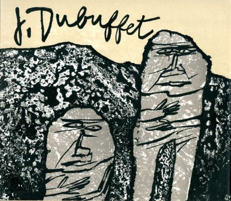 Litografia Dubuffet - Introduction à son oeuvre (par James Fitzsimmons)