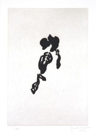 Incisione Hernandez Pijuan - Iris negre II