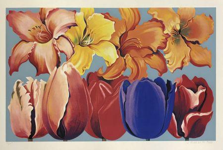Serigrafia Nesbitt - ISLAND OF FLOWERS