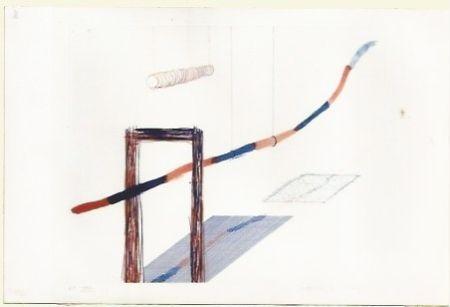 Incisione Hockney - It picks it's away