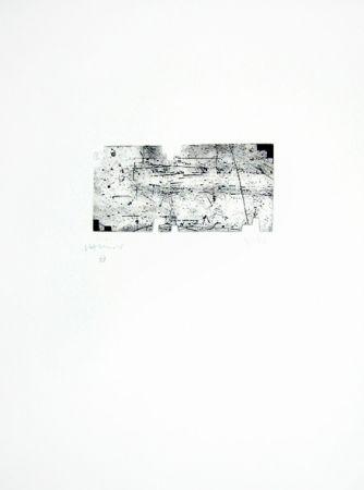 Incisione Chillida - Itsasoratu