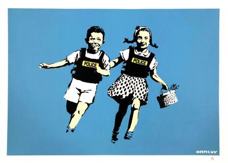 Serigrafia Banksy - JACK AND JILL