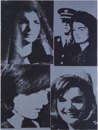 Serigrafia Warhol - Jacqueline Kennedy III, 1966