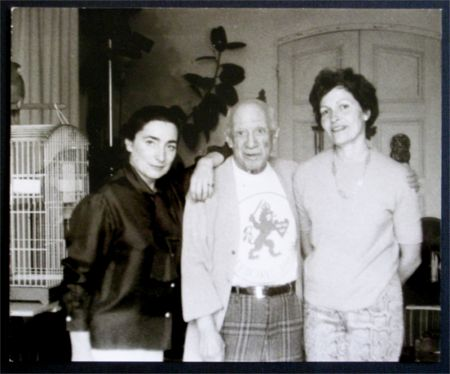 Fotografie Picasso - Jacqueline, Picasso et Gilberte Brassai (