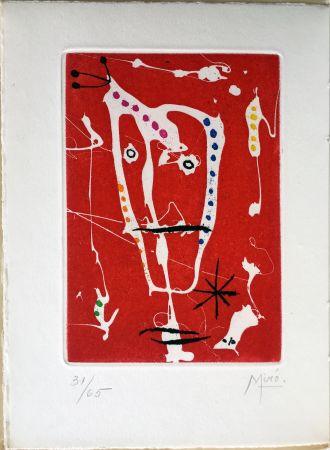Libro Illustrato Miró - Jacques Dupin : LES BRISANTS (1958).