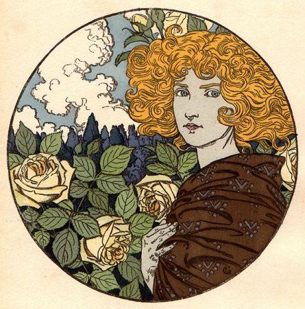 Litografia Grasset - Jalousie