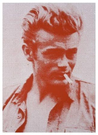 Serigrafia Young - James Dean