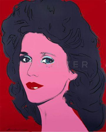 Serigrafia Warhol - Jane Fonda (Fs Ii.268)