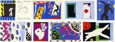 Libro Illustrato Matisse - JAZZ (20 lithographies en couleurs hors-texte). 1ère édition.