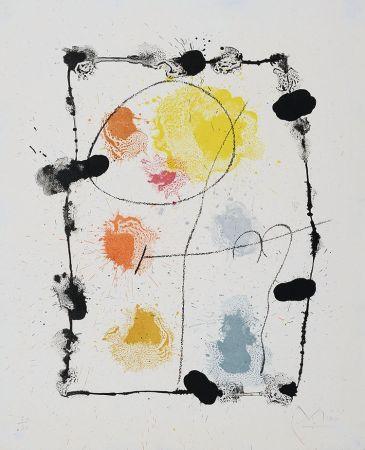 Litografia Miró - Je Travaille Comme Un Jardinier (I Work Like A Gardener), 1963
