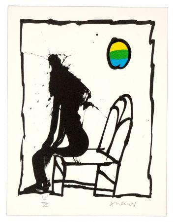 Litografia Alechinsky - Je vous en prie asseyez-vous