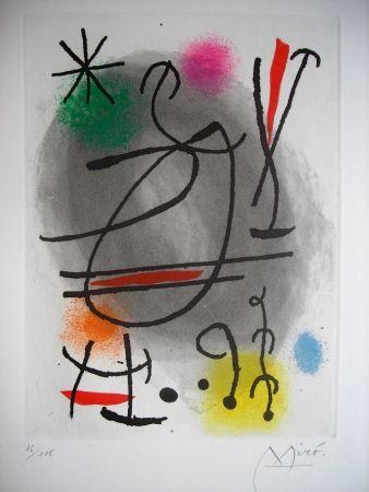 Acquaforte E Acquatinta Miró - Jean Cassou: vingt-deux poèms