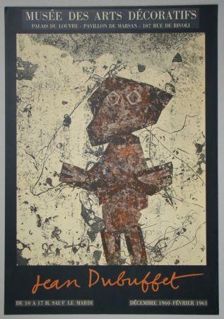 Litografia Dubuffet - Jean Dubuffet