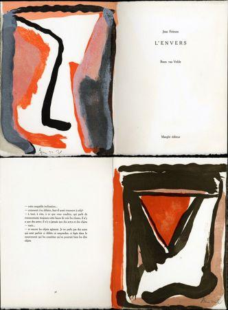 Libro Illustrato Van Velde - Jean Frémon. L'ENVERS. Maeght, Paris 1978