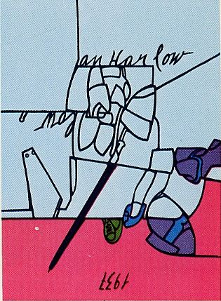 Serigrafia Adami - Jean Harlow