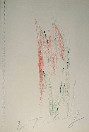 Libro Illustrato Tinguely - Jean Tinguely