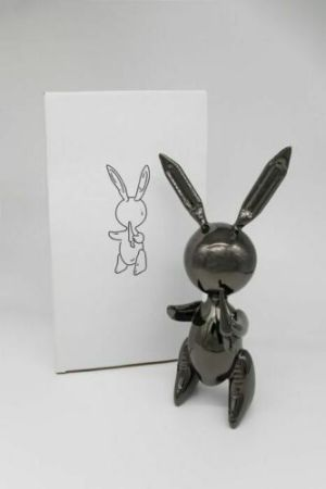 Non Tecnico Koons - Jeff Koons (After) - Balloon Rabbit Black