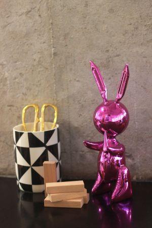 Non Tecnico Koons - Jeff Koons (After) - Balloon Rabbit PINK