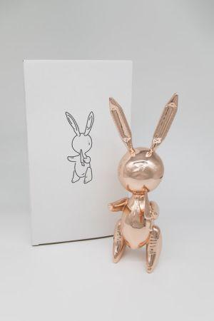 Non Tecnico Koons - Jeff Koons (After) - Balloon Rabbit Rose Gold
