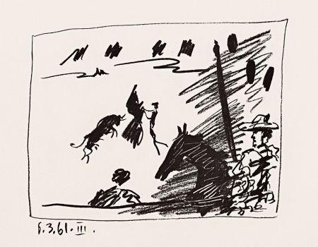 Litografia Picasso - Jeu de la Cape