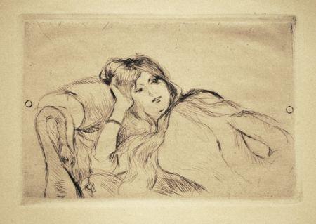 Punta Secca Morisot - Jeune fille au repos