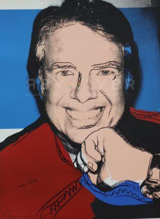 Serigrafia Warhol - Jimmy Carter II (FS II.151)