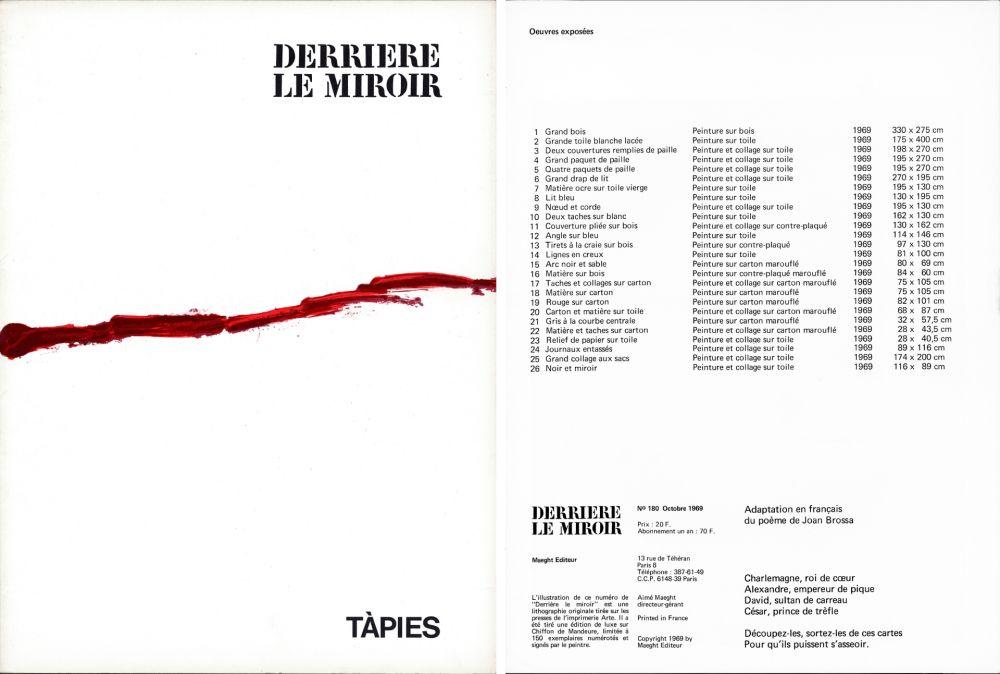 Libro Illustrato Tàpies - Joan Brossa