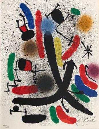 Litografia Miró - Joan Miró Litografo I
