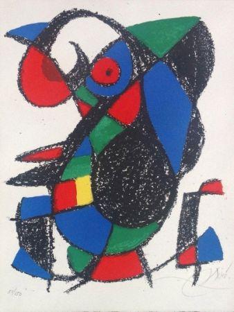 Litografia Miró - Joan Miro Original lithograph, Pencil Signed & numbered 51 / 150