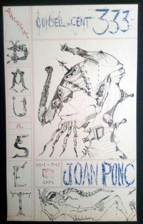 Manifesti Ponç - Joan Ponç Dau al Set 1974