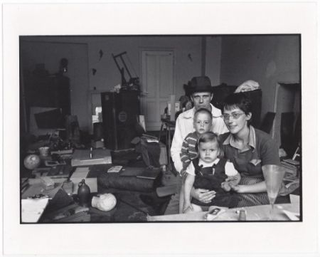 Multiplo Freed  - Joseph Beuys and his Family in his Home in Oberkassel