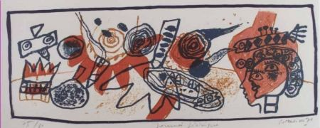 Litografia Corneille - Journee feerique