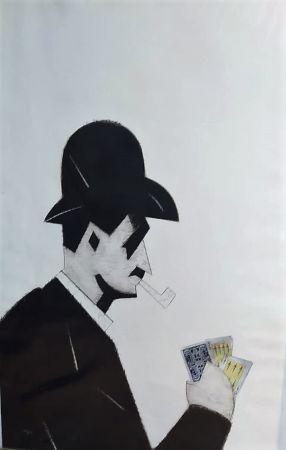 Acquaforte Valdés - Jugador de cartas