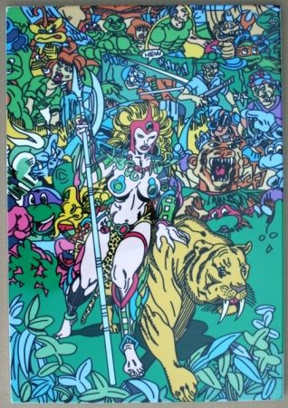 Serigrafia Erro - Jungle Fever