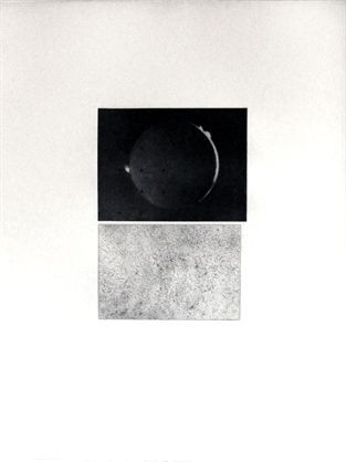 Incisione Celmins - Jupiter Moon – Constellation