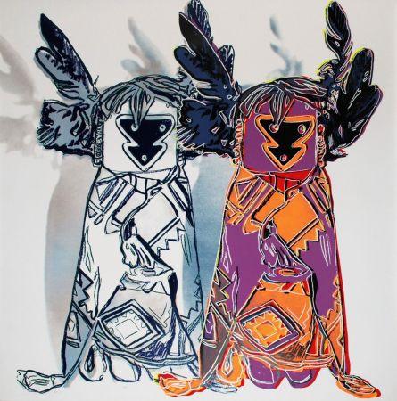 Serigrafia Warhol - Kachina Dolls (FS II.381)