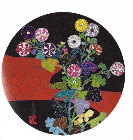 Litografia Murakami - Kansei Korin Red Stream