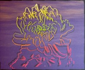 Serigrafia Warhol - Kiku Flower (FS.II.307)