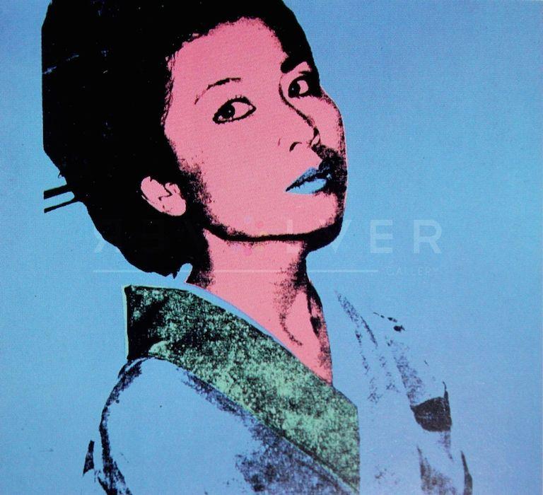 Serigrafia Warhol - Kimiko (FS II.237)