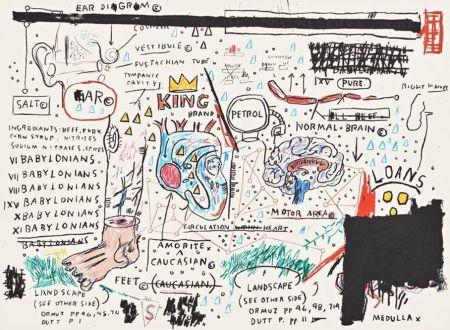 Serigrafia Basquiat - King Brand