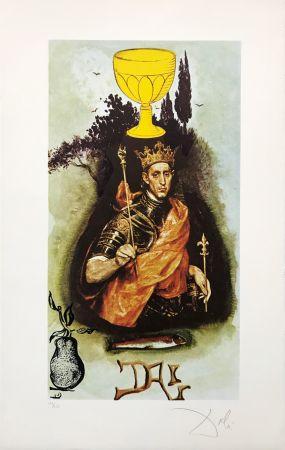 Litografia Dali - KING OF CUPS