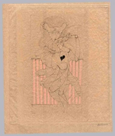 Libro Illustrato Bellmer - Kleist (Heinrich Von). Les Marionnettes.