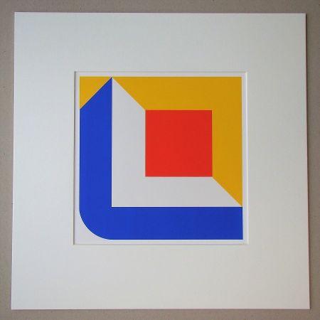 Serigrafia Pfahler - Komposition 1968