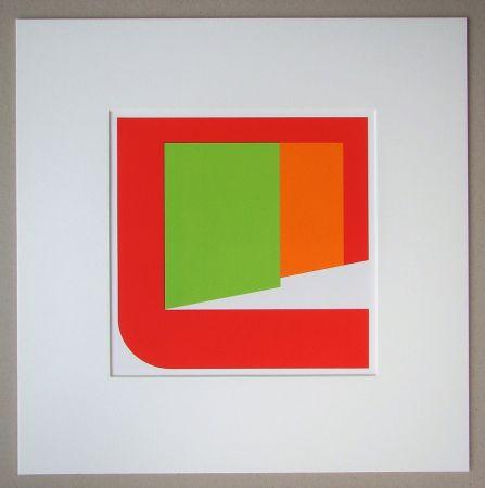Serigrafia Pfahler - Komposition 1969