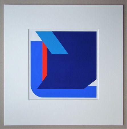 Serigrafia Pfahler - Komposition 1975
