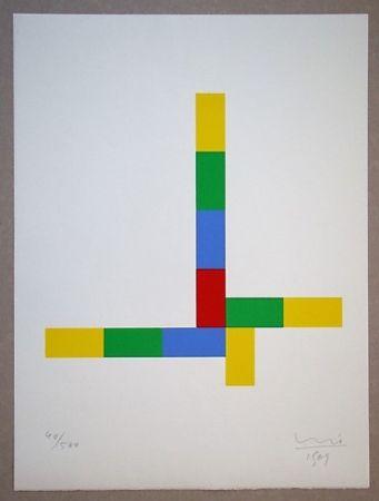 Serigrafia Bill - Konkrete Komposition, 1969