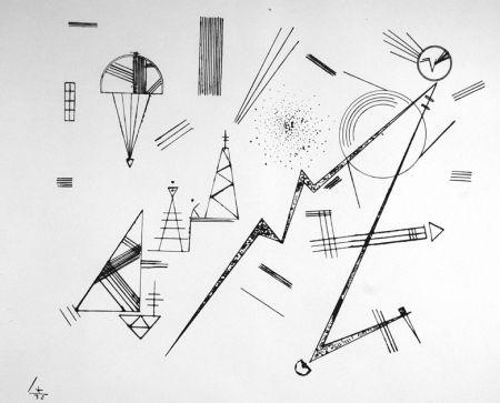Litografia Kandinsky - Kreis der Freunde des Bauhauses