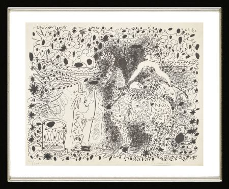 Litografia Picasso - L'Éyuyère, 1960